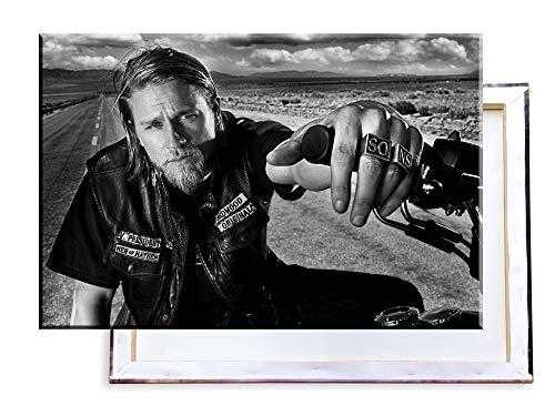 Unified Distribution Sons of Anarchy - 120x80 cm Kunstdruck auf Leinwand • erstklassige Druckqualität • Dekoration • Wandbild