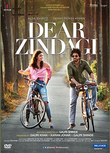 DEAR ZINDAGI Film ~ Bollywood DVD ~ Hindi mit englischem Untertitel ~ Shahrukh Khan, Alia Bhatt ~ Karan Johar ~ India ~ 2016
