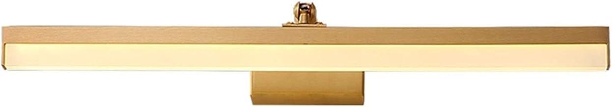 LICHUAN Koper Led Spiegel Licht Moderne Vanity Licht Make-up Lamp voor Badkamer Kast Slaapkamer Spiegel Koplamp Licht (Kle...