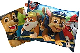 Marthel & Main LLC Blanket and Pillow Set for Toddlers, Soft, Cuddly Throw 40