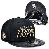 GUYOULY Gorra de béisbol Plana Hip Hop Hat Cap Modelos de Primavera y Verano de los Pares...