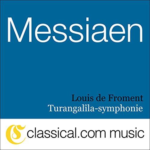 Turangalîla-symphonie - Jardin du Sommeil d'Amour