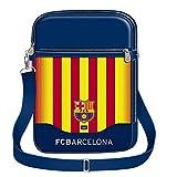 Karactermania FC Barcelona Senyera Bolso Bandolera, 28 cm, Azul