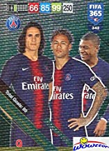 Edinson Cavani/Neymar Jr/Kylian Mbappé Paris Saint-Germain 2019 Panini Adrenalyn XL FIFA 365 Attacking Trio Insert! Special Card Imported from Europe! Shipped in Ultra Pro Top Loader to Protect it!