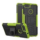 Zenfone Max Plus ZB570TL Custodia Cover Case, FoneExpert® Resistente Armatura dell'impatto Custodia Kickstand Shockproof Protective Case Cover Per ASUS Zenfone Max Plus 5.7' (ZB570TL) M1