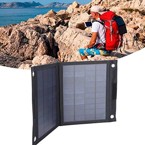 Gaeirt Ensamblaje de Panel Olar, Bolsa de Panel Solar Duradera con Alta tasa de conversión para Ciclismo al Aire Libre