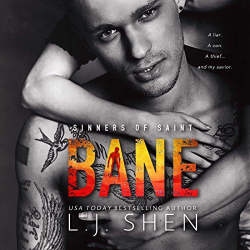 Bane audiobook cover art