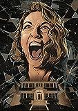 SYKKYS Film Twin Peaks Poster Kunstwerk Leinwand Malerei