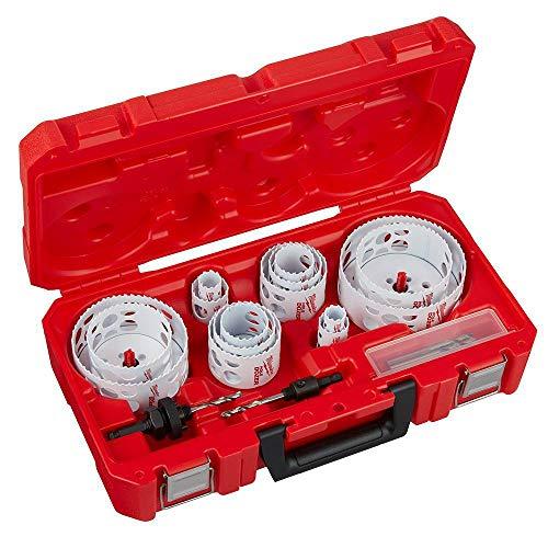 Hole Dozer General Purpose Bi-Metal Hole Saw Set W/Titanium Drill Bit Set (35-Piece)
