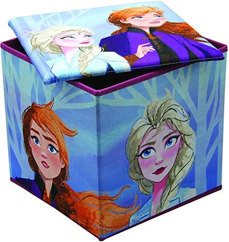Arditex Disney Eiskönigin 2 Aufbewahrungsschachtel & Gepolstert Schlafzimmer Stuhl Kinder Ottomane Sitz
