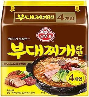 [Ottogi] Sausage Stew Ramen Noodle Soup (Pack of 4) / Budae-jjigae/Korean food/Korean ramen (overseas direct shipment)