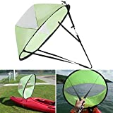 <span class='highlight'><span class='highlight'>SUIYUE</span></span> 42-inch, kayak sail paddle scout wind paddle, pop-up collapsible kayak sail paddle, kayak canoe accessory, light and durable (green)