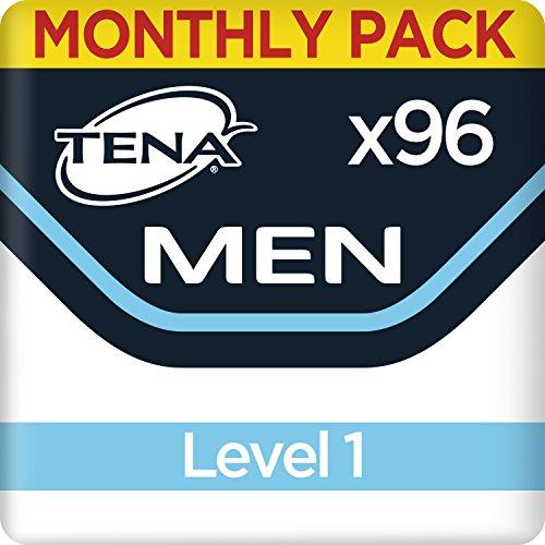 TENA Men Protector Absorbente Nivel 1, Compresas - 96