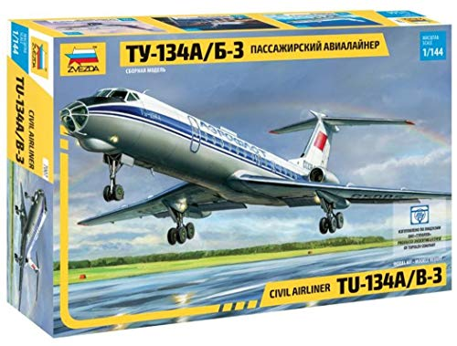 Zvezda 7007–1: 144Passenger Plane Tupolev Tu 134B '67