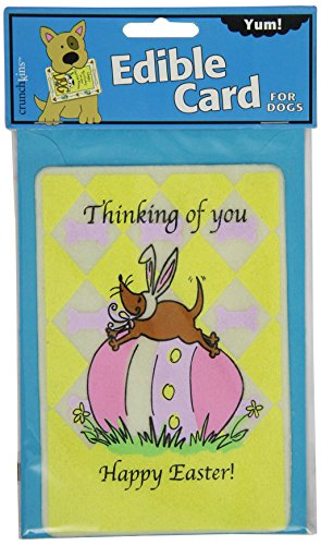 Crunchkins Comestible Crunch Carte pour Chiens, Thinking of You