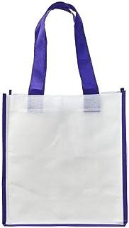 Bullet Contrast Non-Woven Shopping Tote Bag