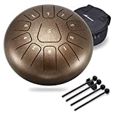 Steel Tongue Drum 11 Notes 10...
