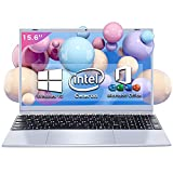 パソコン ノート office付き 15.6インチ Win10搭載 薄型PC ノート 高性能CPU インテル Celeron J4115 /1.6GHz~2.4 GHz /メモリー:8GB/高速SSD フルHD液晶/大容量バッテリー搭載/ WIFI搭載/Bluetooth搭載/豊富な接続端子/軽量薄型/ 外付けDVD付属 /ノートパソコン laptop 在宅勤務・カメラ付き・Zoomパソコンノート Dobios (SSD:256GB)