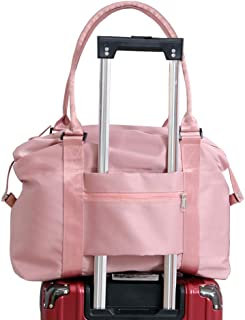 Lightweight Travel Tote Bag Gym Weekender Overnight Bags Sports Duffel Carry on Luggage Bag with Trolley Sleeve - Hospital Handbags