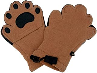 BearHands Paws Mittens Youth Small Camel