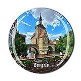 Bamberg Germany Kühlschrankmagnet, Souvenir, Geschenk, Deko, Magnetaufkleber, Kollektion