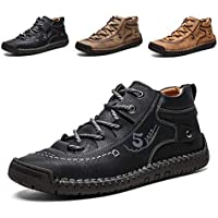 Alcubieree Lightweight Genuine Leather Men's Boots