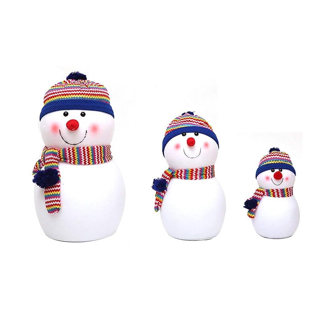 誰でもパンダ市区町村ぬいぐるみクリスマスぬいぐるみクリスマス雪だるまぬいぐるみクリスマスギフトホームクリスマスの飾り (Color : Blue)
