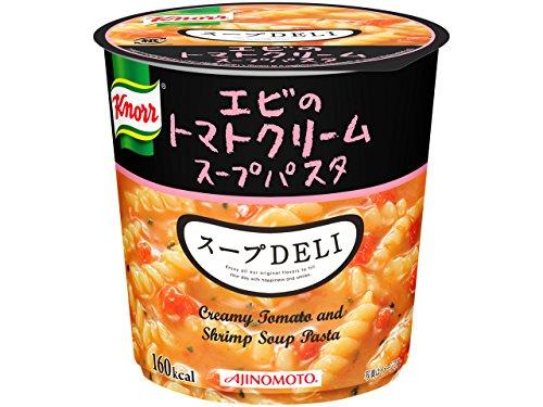 味の素 クノール スープDELI エビのトマトクリームスープパスタ カップ41.2g [9442]