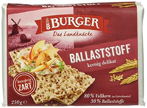 Burger Knäcke Ballaststoff, 250 g