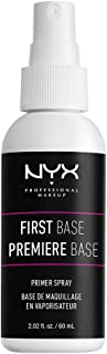 NYX Professional Makeup First Base Makeup Primer Spray, 0.