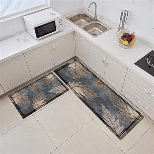 WESG Rutschfeste Fußmatte für Küche,...