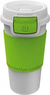 Contigo Morgan Autoseal Travel Mug, 360 ml - White/Citron