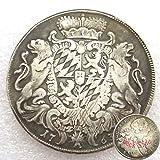 Monedas antiguas alemanas de FKaiYin 1763 - Moneda del Imperio Alemán - Moneda vieja sin circular, gran moneda conmemorativa regalo para papá/amigo/marido futuro experiencia