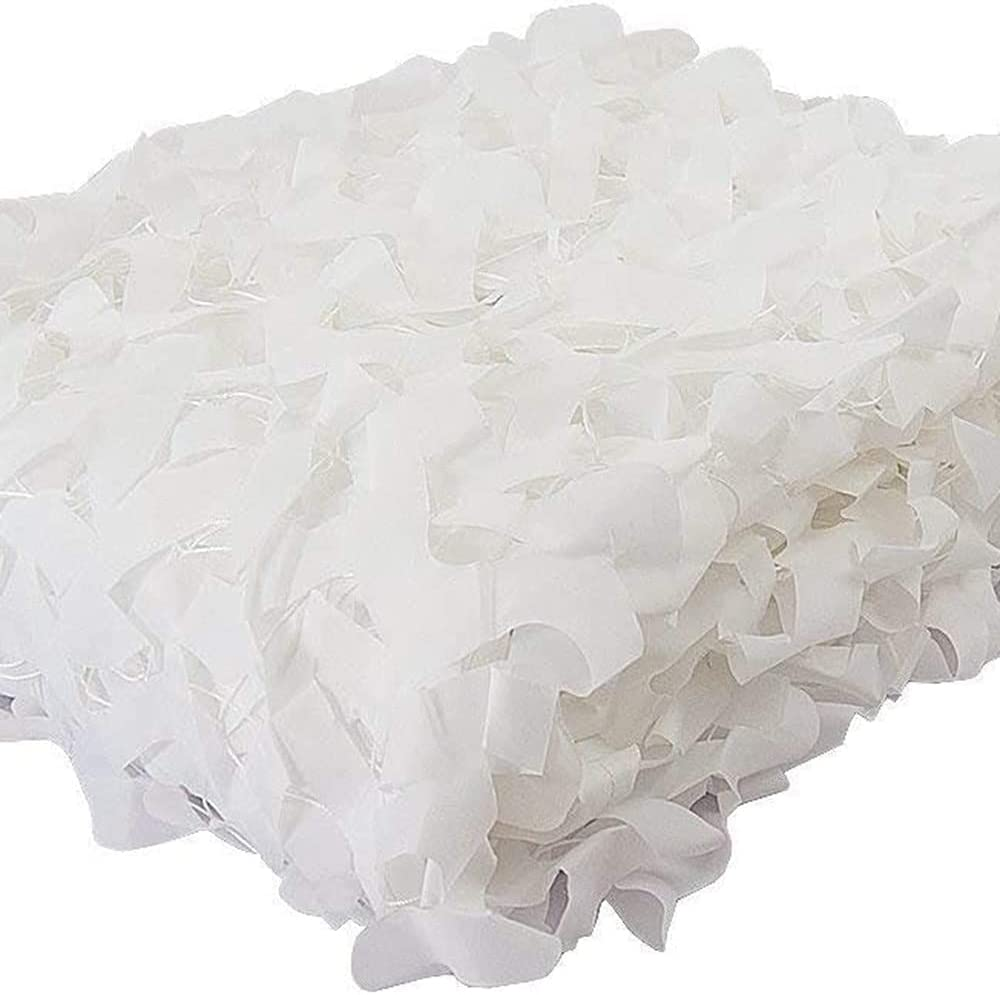 YiDD White Camouflage net Under blast sales Hunting Forest San Antonio Mall Landscape Camping Outdo