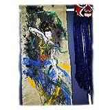 Ztong Das Handgemalte Ölgemälde Für Zeitgenössische Kunst, Das Original-Wandgemälde Aus Sackleinen Von Dunhuang Feitian, Kann Als Bürodekoration (260 Bx70 L) Verwendet Werden.