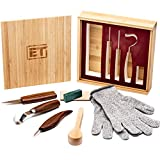 Best wood carving tools - Elemental Tools 9pc Wood Carving Tools Set Review