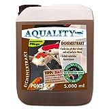 AQUALITY Gartenteich Eichenextrakt Pond 3in1 (GRATIS Lieferung in DE - Senkt schnell den pH-Wert - Enthält natürliche Huminsäuren - Unterstützt die Algenbekämpfung), Inhalt:5 Liter