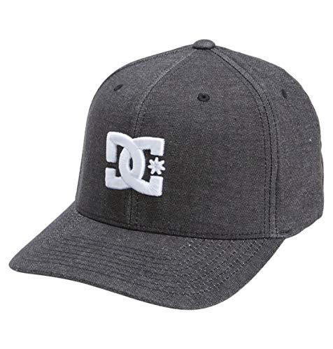 DC Shoes Herren Capstar TX-Flexfit Cap für Männer Kappe, Black, L/XL
