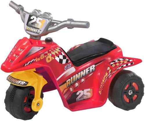 Loko 99725-S - Elektrofahrzeug Tribike - Rot