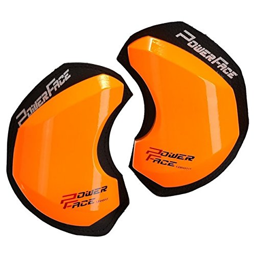 Power Face Bois des genoux – Race GP Orange Fluo