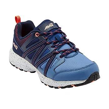 Avia Women s Avi-Vertex Running Shoe Blue/Peacoat/Fusion Coral 9