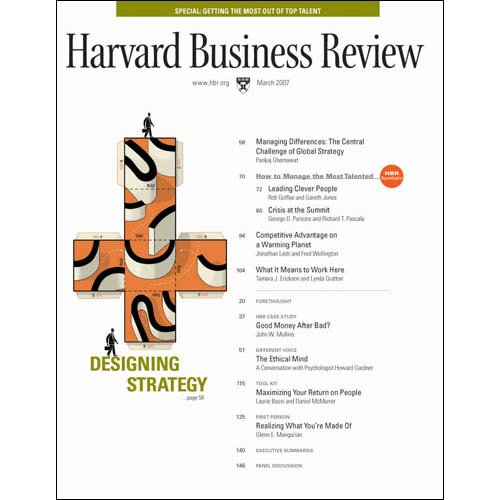 Harvard Business Review, March 2007 copertina