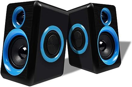 Altoparlanti per PC con altoparlanti profondi, laptop da tavolo con altoparlante stereo basso USB Cellulare MP3 Altoparlante piccolo 2.0 Jack audio da 3,5 mm con cavo - Trova i prezzi più bassi
