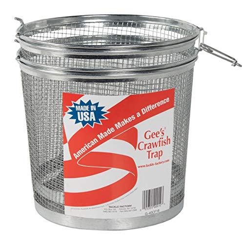 """Gees G40CF18 Crawfish Trap (2 Traps) 2 1/4"""" Opening"""