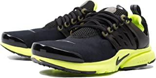 Nike Presto Black/Dark Grey-Volt (Big Kid)