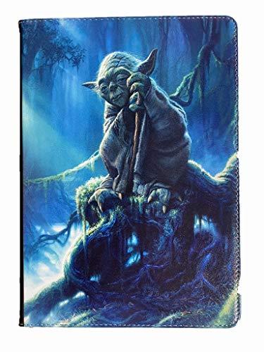 For iPad mini 1 2 3 4 5 Master Yoda Star Wars Jedi Master New Smart Stand Case Cover