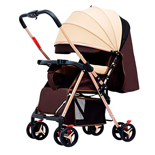 Bospyaf Cochecito De Bebé Plegable Ligero Puede Sentarse Y Mentir Bebé Simple Paraguas Cochecito Cochecito De Bebé,B2