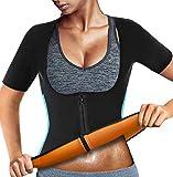 Neoprene Shapewear Women Body Shaper Sauna Suit Sweat Vest Waist Trainer Workout Weight