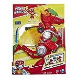 Playskool Heroes Power Rangers - Dragon Thunderzord Electronique de 35 cm et figurine Ranger Rouge de 7,5 cm - Jouet Power...