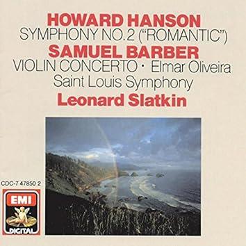 Hanson: Symphony No. 2 - Barber: Violin Concerto